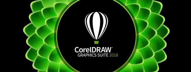 CorelDRAW Graphics Suite 2018: le novità