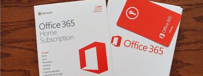 Office 365, più controllo sui dati inviati
