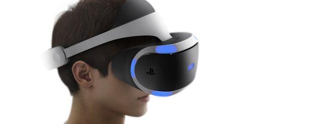 Project Morpheus, Sony aggiorna il visore VR