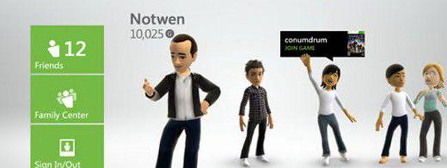 Xbox 360: disponibile la nuova dashboard