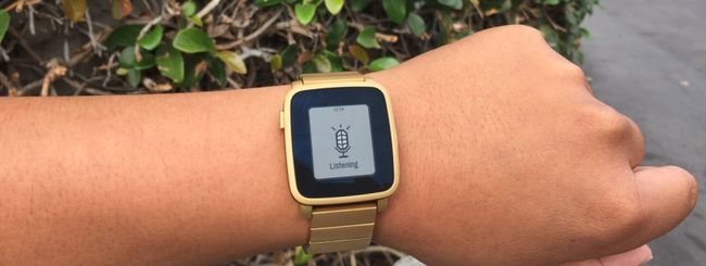 Pebble Time, riconoscimento vocale per le app