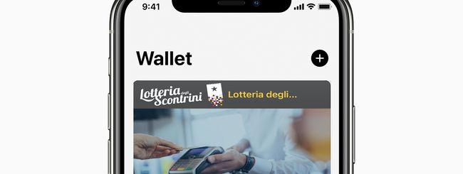 Lotteria degli Scontrini: aggiungere il Codice Personale su Wallet