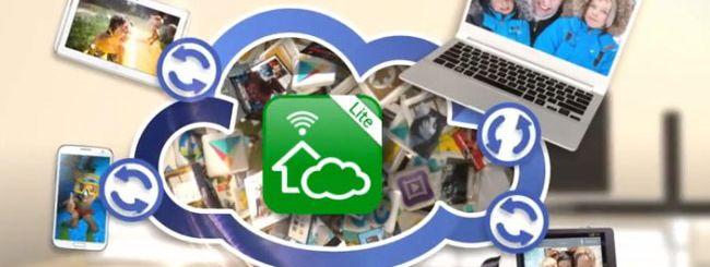 Samsung HomeSync Lite, cloud storage su PC