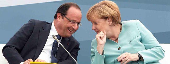 Angela Merkel, un web tutto suo