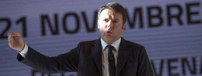 Renzi, attento al tecno entusiasmo