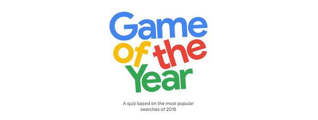 Google, un gioco per scoprire le tendenze del 2018