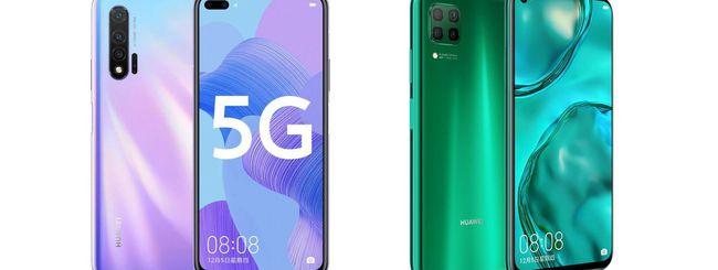 Huawei annuncia Nova 6, Nova 6 5G e Nova 6 SE