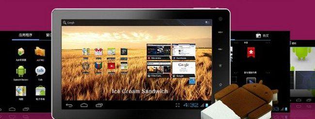 MIPS Novo7, tablet Android 4.0 ICS a 99 dollari
