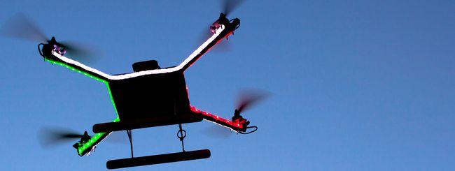 Droni: il software per atterraggi d'emergenza