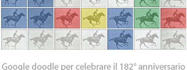 Eadweard J. Muybridge celebrato con un Google doodle