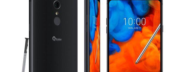 LG Q Stylus disponibile in Italia