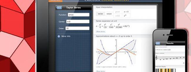 Le tre applicazioni del prof. Wolfram Alpha