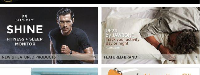 Amazon inaugura la sezione dedicata ai Wearable