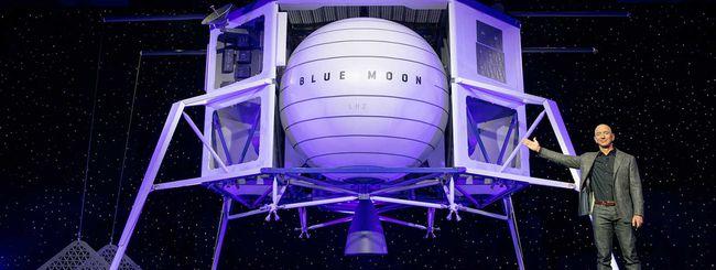Jeff Bezos svela Blue Moon: vuole la Luna nel 2024