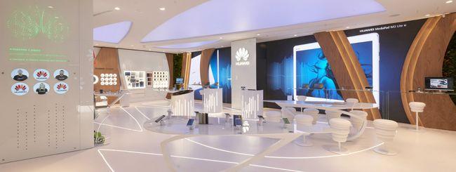 Huawei apre a Milano il primo Experience Store