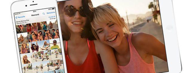 iOS 8.1 ripristina il rullino foto
