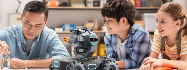 DJI porta in Italia RoboMaster S1