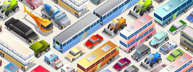 HERE Maps mostrerà metro, bus e tram in 3D