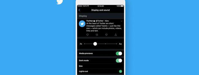 Twitter, come attivare la Dark Mode su iPhone