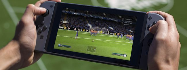 FIFA 18 per Switch: 1080p e 60 fps con il dock
