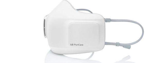 LG PuriCare: la mascherina con purificatore d'aria
