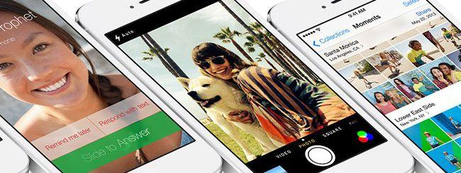 iOS 7 copia davvero Android?