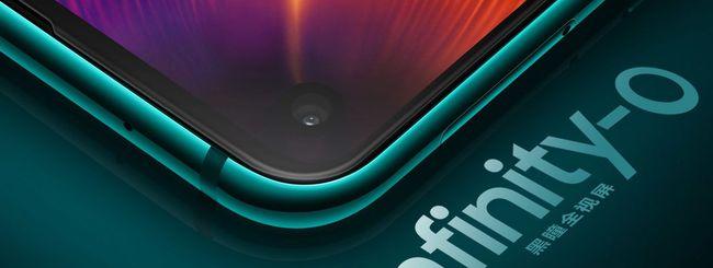 Samsung Galaxy A8s, un foro nel display Infinity