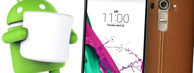 Android 6.0 Marshmallow in arrivo su LG G4