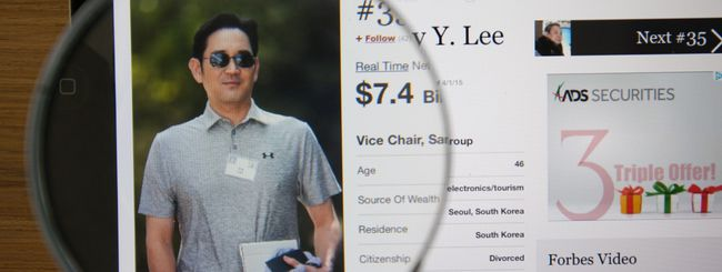 Samsung, Lee Jae-yong arrestato per corruzione