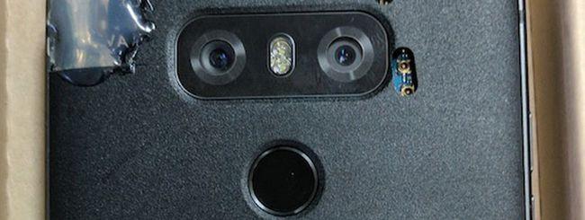 LG G6, prototipo con doppia fotocamera posteriore