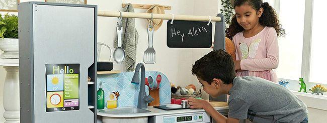 Amazon Alexa ti aiuta a gestire una cucina (giocattolo)