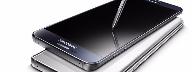 Samsung Galaxy Note 5 anche in Europa nel 2016