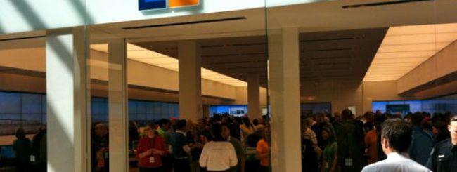 I negozi Microsoft non replicano il successo di quelli Apple