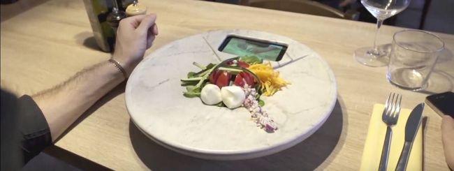 DishPlay, il piatto smart che parla con la cucina