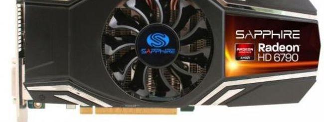AMD Radeon HD 6790 contro la GeForce GTX 550 Ti di NVIDIA