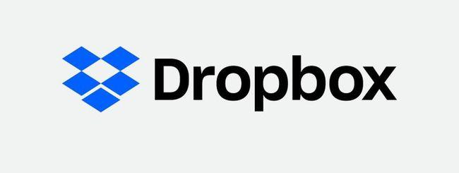 Dropbox attiva l'anteprima dei file ZIP e RAR