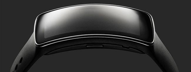 Samsung Gear Fit, il bracciale da fitness avanzato