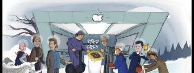 Il presepe fai-da-te per i fan Apple