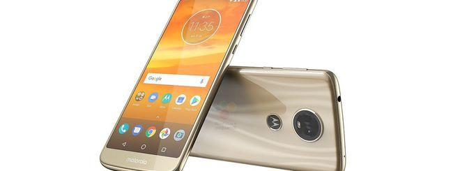 Motorola Moto E5 e E5 Plus, immagini ufficiali