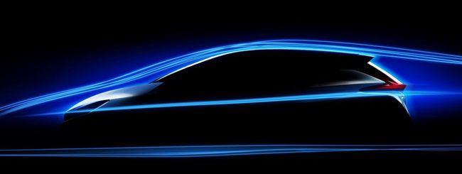 Nuova Nissan Leaf, più efficiente per meno consumi
