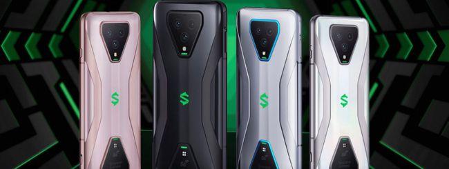 Black Shark 3 e 3 Pro, gaming phone esclusivi