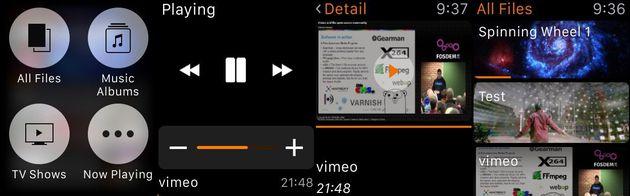 VLC per Apple Watch