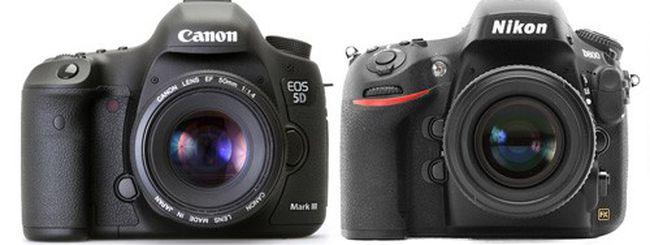 Nikon D800 e Canon EOS 5D Mark III: confronto video