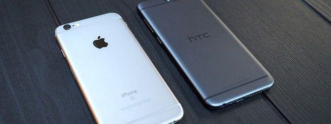 HTC One A9, una copia dell'Apple iPhone 6?