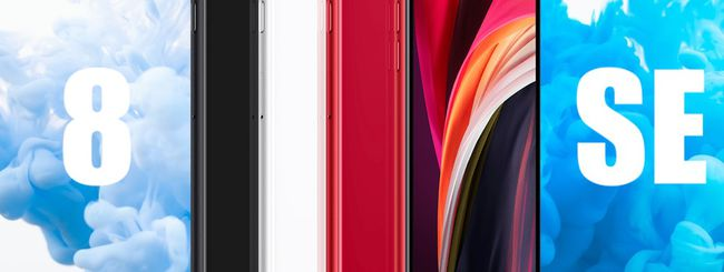 iPhone SE VS. iPhone 8: tutte le differenze