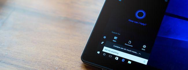Windows 10 19H1 separa Cortana dalla ricerca