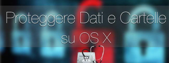 Proteggere cartelle e documenti su OS X con un'immagine disco crittografata