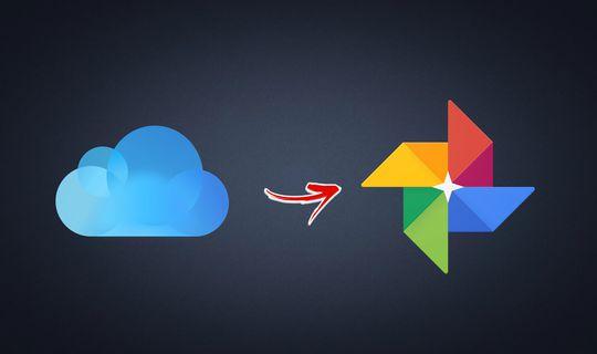 Trasferire le foto da iCloud a Google Foto