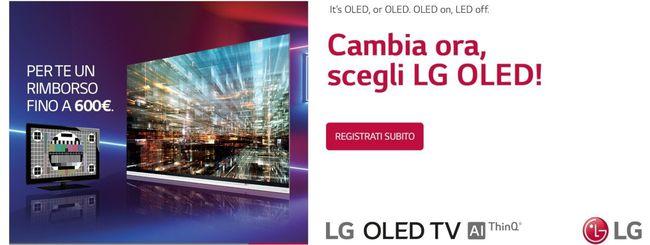 LG OLED TV 2019: rimborsi sino a 600 euro