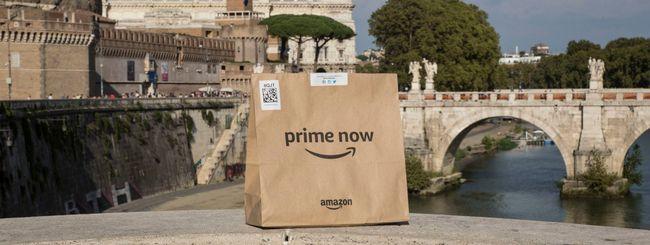Amazon amplia Prime Now a Roma